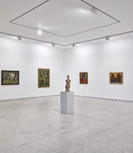 Expressionismus Raum, Installationsansicht, 2021