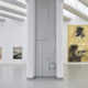 (rechts) Sigmar Polke, 6-teiliger Biennale-Zyklus, 1986. Erworben 1988-89 mit Förderung des Landes NRW und des Museumsvereins Mönchengladbach. Foto: Achim Kukulies