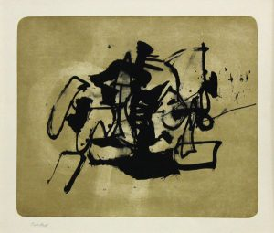 Ohne Titel, 1964, Lithographie