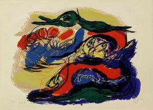 Paysage mystérieux, 1959, Farblithographie