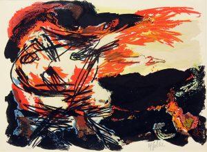 Rencontre, 1962, Farblithographie
