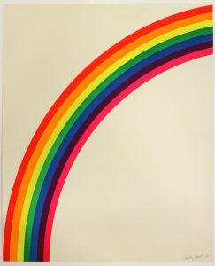 Ohne Titel, 1965, Siebdruck (Sammlung Etzold)