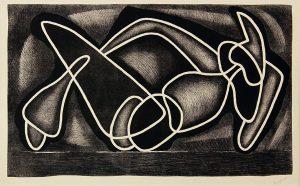 Les formes encerclées, 1963, Druckgraphik
