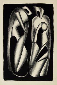Luminosité des formes, 1963, Druckgraphik