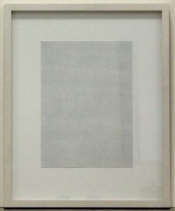Ohne Titel, 1995, Graphit auf Papier, Jahresgabe des Museumsvereins