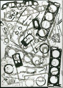 Ohne Titel, 1970, farbige Lithografie, Sammlung Etzold