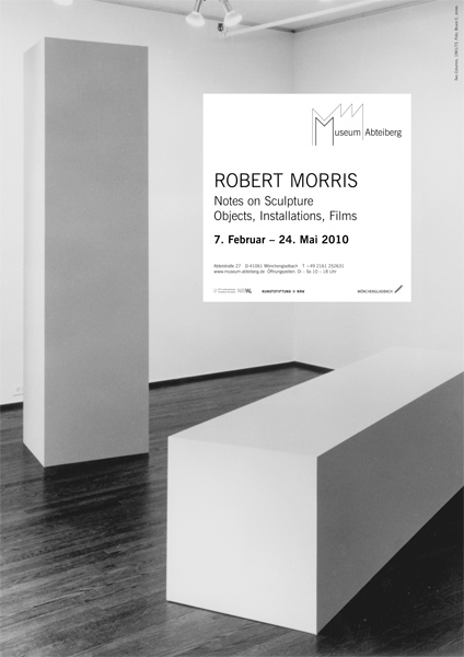 plakat-morris-robert-notes-on-sculpture