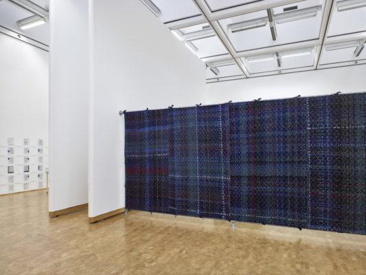 Soft Blockade (Feminist Barricade) 2003-2004, fabric and thread. Photo: Achim Kukulies