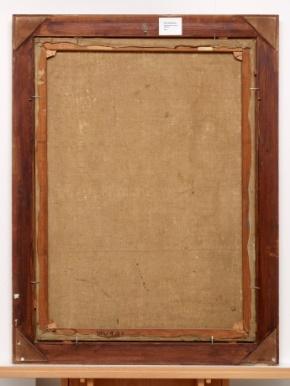 Abb.: Ernst Ludwig Kirchner, Weiblicher Akt im Grünen, 1914/15, Recto und Verso, Museum Abteiberg Mönchengladbach,  Foto: Achim Kukulies
